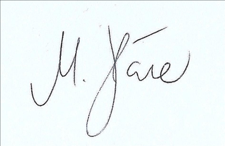Unterschrift Martin Häner