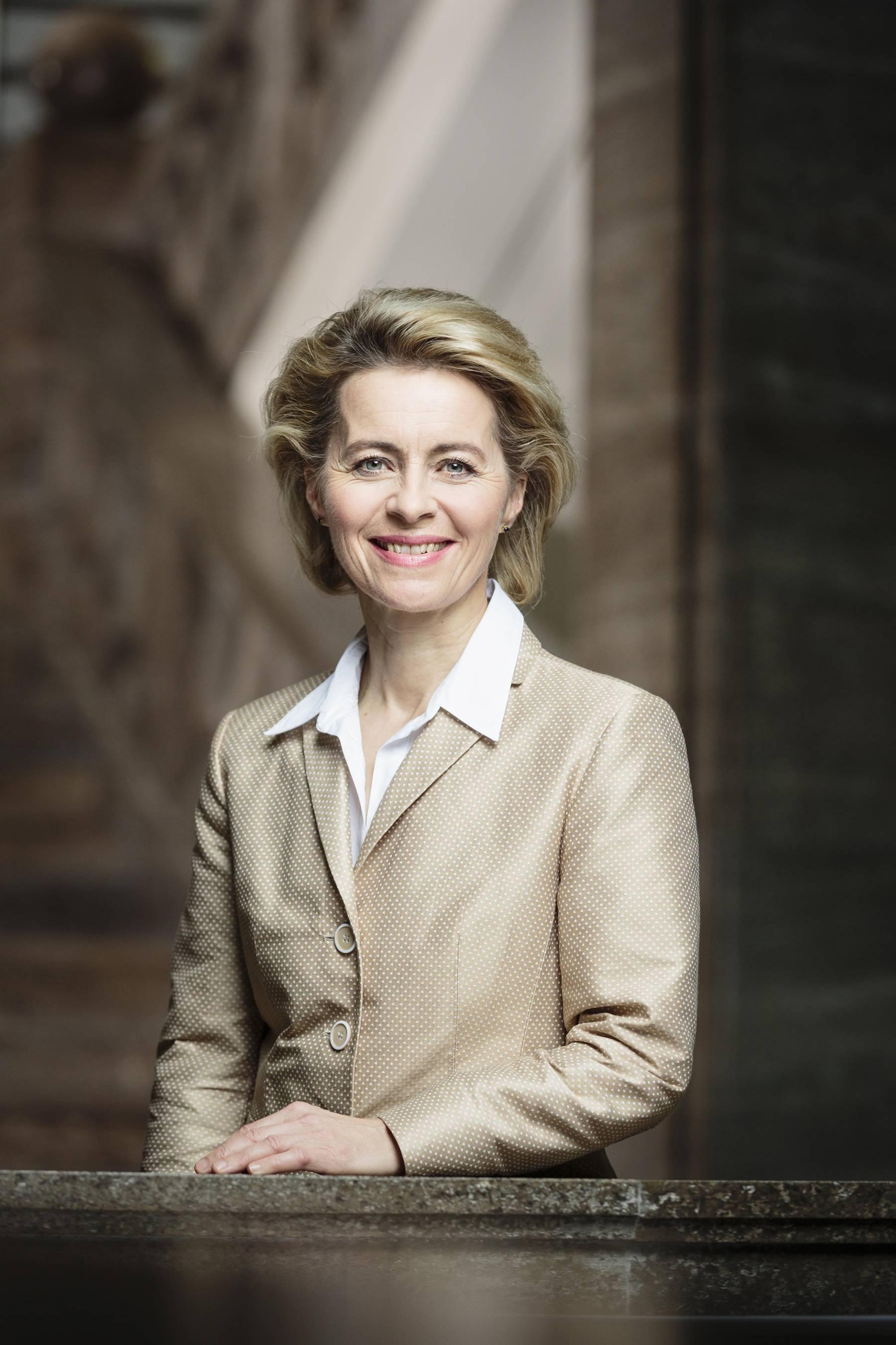 Foto Frau von der Leyen