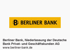 Berliner Bank, Niederlassung der Deutsche Bank Privat- und Geschäftskunden AG